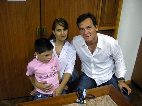 Marcelo, Tomás y Gisella