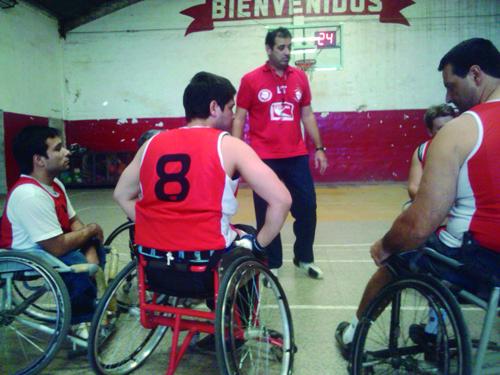 Jugadores con Juan Domínguez