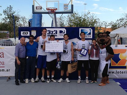 Los campeones del 3x3 en Córdoba